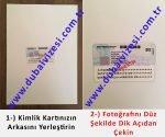 dubai vizesi için gerekli evraklar - T.C. kimlik kartı arkası çekim örneği