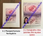 dubai vizesi için gerekli evraklar - T.C. pasaport çekim örneği